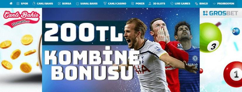 Grosbet Süper Lig Kombine Bonusları