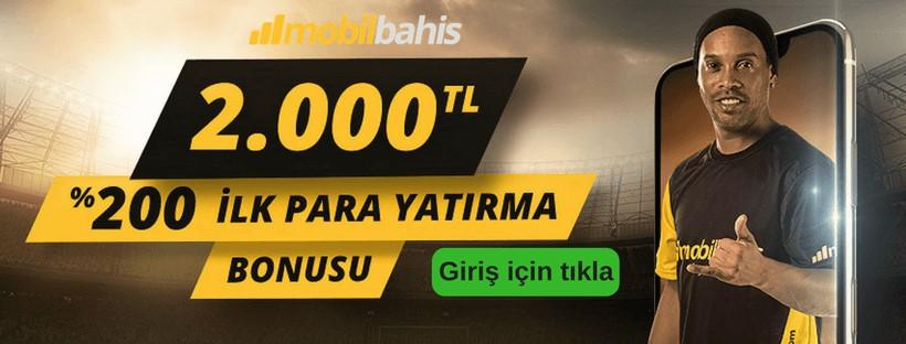 Mobilbahis 2000 TL bonus