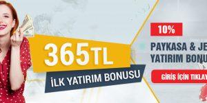 Tipobet365 Paykasa ve Jeton Yatırımlarına %10 Bonus Veriyor!