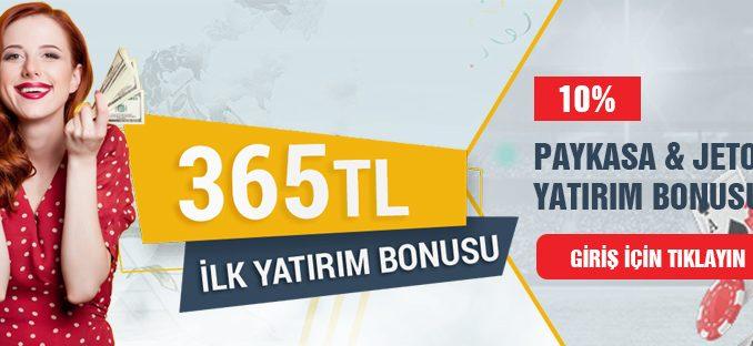 Tipobet365 Paykasa ve Jeton Yatırımlarına Bonus