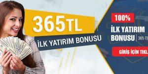 Tipobet365 Hoşgeldin Bonusu 365 TL Veriyor!
