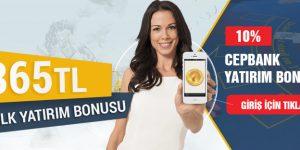 Tipobet365 Cepbank Yatırımlarına %10 Bonus Veriyor!