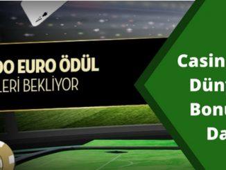 Casino Metropol Dünya Kupası Bonusu