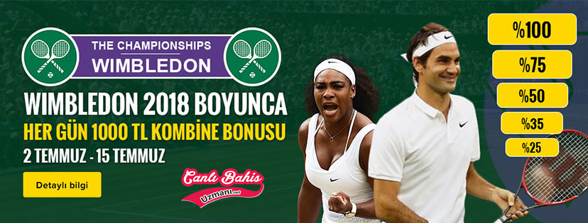 Trbet Wimbledon Kombine Bonusu