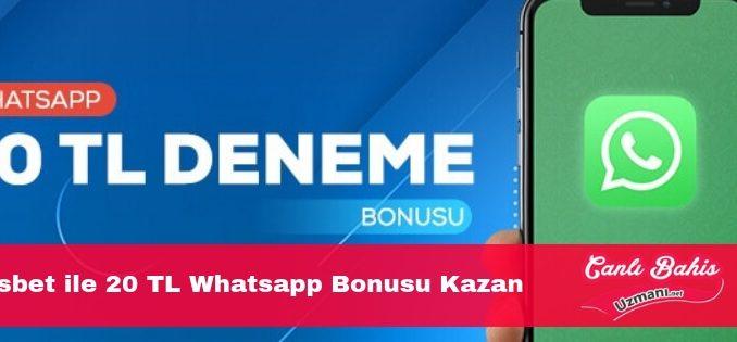 Bahisbet whatsapp bonusu